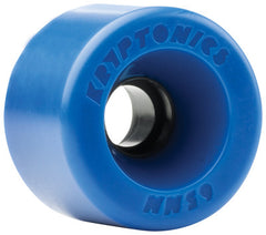 Kryptonics Star Trac Skateboard Wheels 65mm - Blue (Set of 4)