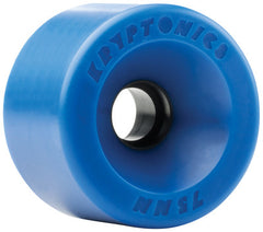 Kryptonics Star Trac Skateboard Wheels 75mm - Blue (Set of 4)