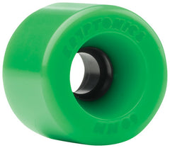 Kryptonics Star Trac Skateboard Wheels 60mm - Green (Set of 4)