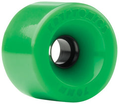 Kryptonics Star Trac Skateboard Wheels 70mm - Green (Set of 4)