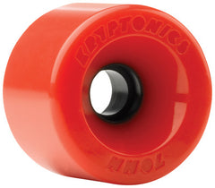 Kryptonics Star Trac Skateboard Wheels 70mm - Red (Set of 4)