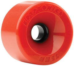Kryptonics Star Trac Skateboard Wheels 75mm - Red (Set of 4)