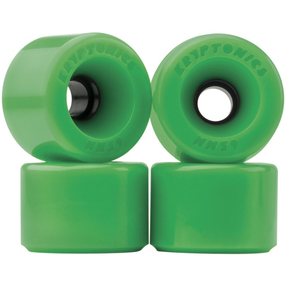 Kryptonics Star Trac Skateboard Wheels - Green - 55mm (Set of 4)
