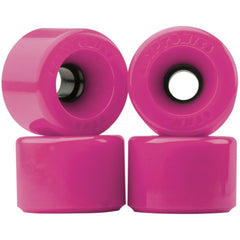 Kryptonics Star Trac Skateboard Wheels - Pink - 60mm (Set of 4)