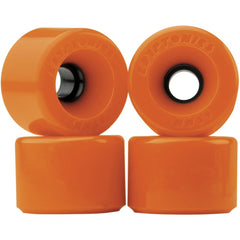 Kryptonics Star Trac Skateboard Wheels - Orange - 60mm (Set of 4)