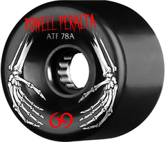 Powell Peralta ATF Skateboard Wheels 69mm 78a - Black (Set of 4)