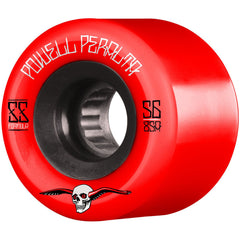Powell Peralta G-Slides Skateboard Wheels - Red - 56mm 85a (Set of 4)