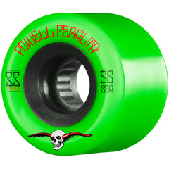 Powell Peralta G-Slides Skateboard Wheels - Green - 56mm 85a (Set of 4)