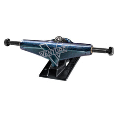 Venture Cosmic V-Lights Low Skateboard Trucks - Blue/Black - 5.25 (Set of 2)