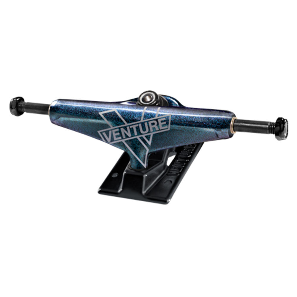 Venture Cosmic V-Lights High Skateboard Trucks - Blue/Black - 5.25 (Set of 2)
