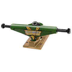Venture Bachinsky Great Outdoors Low Skateboard Trucks - Green/Gold - 5.0 (Set of 2)
