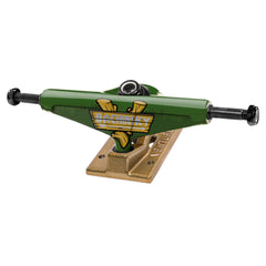 Venture Bachinsky Great Outdoors Low Skateboard Trucks - Green/Gold - 5.25 (Set of 2)