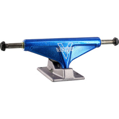 Venture Bullet V-Light High Skateboard Trucks (Set of 2) - Blue/Silver - 5.0