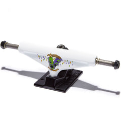 Venture Dane Big Easy V-Light Low Skateboard Trucks - White/Black - 5.0 (Set of 2)