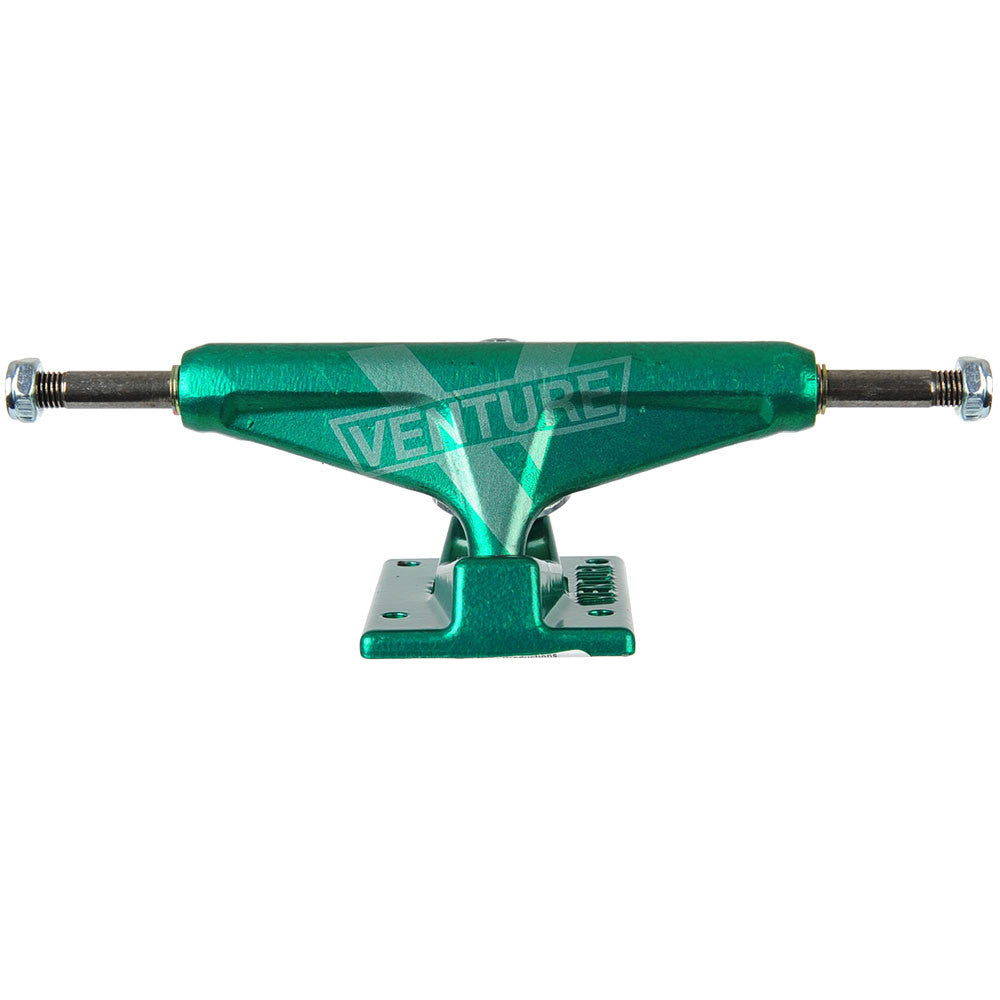 Venture Monochrome Marquee High Skateboard Trucks - Green - 5.2 (Set of 2)