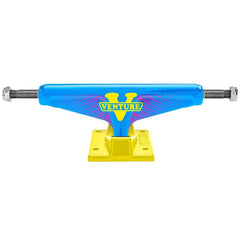 Venture Get Rad Low Skateboard Trucks - Blue/Yellow - 5.2 (Set of 2)