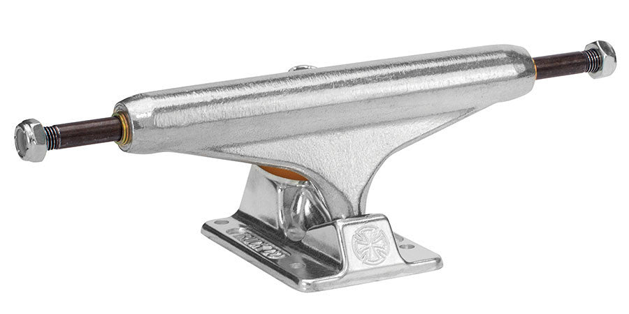 Independent 139 Stage 11 Forged Standard Skateboard Trucks - Silver/Silver - 137mm (Set of 2)