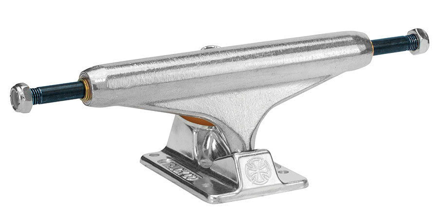 Independent 139 Stage 11 Forged Titanium Standard Skateboard Trucks - Silver/Silver - 137mm (Set of 2)