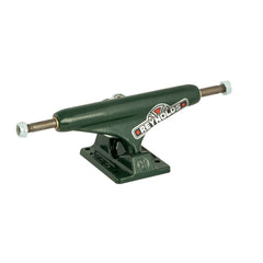 Independent 129 Stage 11 Reynolds GC Hollow Standard Skateboard Trucks - Green/Green (Set of 2)