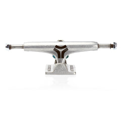 Destructo Low Raw Skateboard Trucks - 5.0 - Silver/Silver (Set of 2)