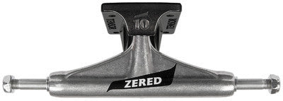 Tensor Aluminum Vex Zered Bassett Skateboard Trucks - 5.25 - Raw/Black (Set of 2)