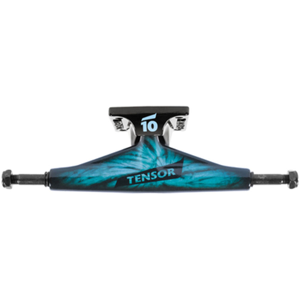 Tensor Aluminum Low Tens Tie Dye Skateboard Trucks - Tie-Dye/Blue - 5.5in (Set of 2)