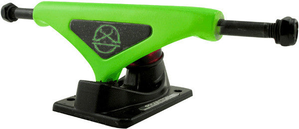 Phantom 2 - Fluorescent Green - 7.5in - Skateboard Trucks (Set of 2)