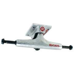 Ruckus Low Skateboard Trucks - Silver/Silver - 4.75in (Set of 2)