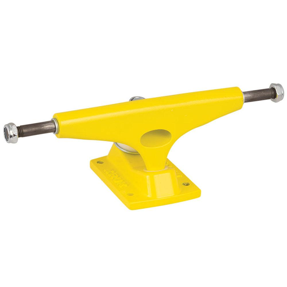 Krux 8.0 K4 Yeller Standard Skateboard Trucks - Yellow - 5.35in (Set of 2)
