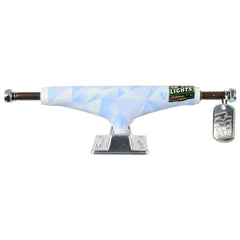 Thunder Arctic Light High Skateboard Trucks - White/Silver - 149mm (Set of 2)