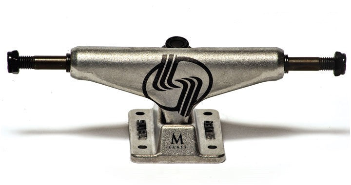 Silver M Class Skateboard Trucks - 8.25 - Raw (Set of 2)