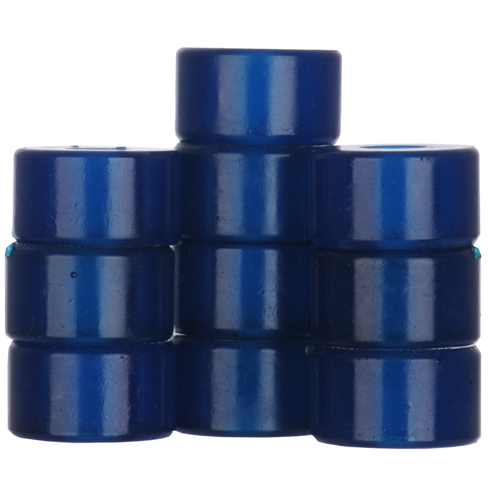 Silver Bushing Bottom - Blue - Skateboard Bushings (1 PC)