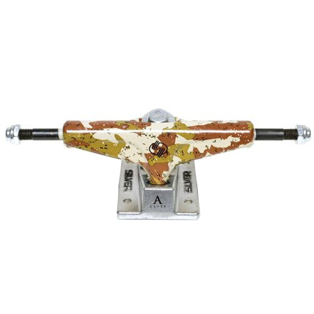 Silver A Class Skateboard Trucks - Desert Camo - 7.5in (Set of 2)