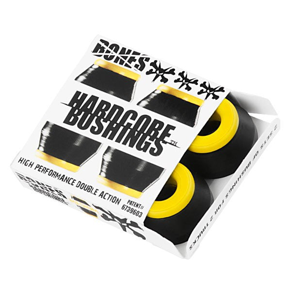 Bones Bushings Hardcore #2 Skateboard Bushings - Medium - Black (4 PC)