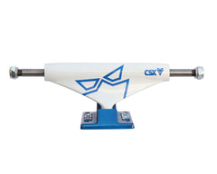 Theeve CSX Crop (V3) - Blue/White - 5.0in - Skateboard Trucks (Set of 2)