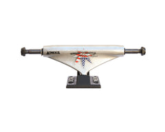 Theeve Ronnie Creager Tiking (V3) - Raw/Black - 5.0in - Skateboard Trucks (Set of 2)