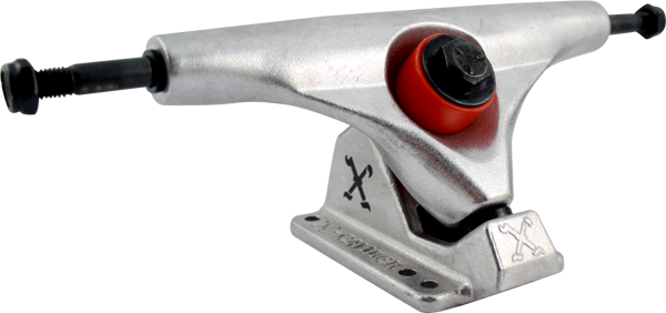X-Caliber XTR Skateboard Trucks - 160mm - Silver/Silver (Set of 2)
