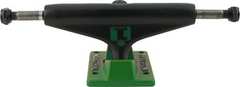 Industrial Skateboard Trucks - 5.25 - Black/Green (Set of 2)