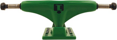 Industrial Skateboard Trucks - 5.0 - Green/Green (Set of 2)