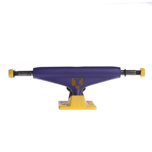 Industrial Los Angeles Skateboard Trucks - 5.25 - Purple/Gold (Set of 2)