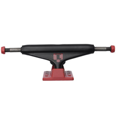 Industrial Skateboard Trucks - 5.0 - Black/Red (Set of 2)