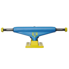 Industrial Skateboard Trucks - 5.25 - Neon Sky Blue/Yellow (Set of 2)