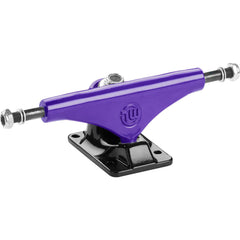 Mini Logo Split Skateboard Trucks - Purple/Black - 7.63in (Set of 2)