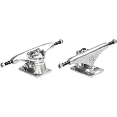 Mini Logo Skateboard Trucks - Silver/Silver - 8.75in (Set of 2)