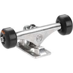 "Mini Logo Trucks - 8.38"" Polished - ML Bearings - 53mm 101a Black Wheels (Set of 2)"