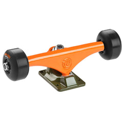 "Mini Logo Trucks - 8.38"" Orange/Green - ML Bearings - 53mm 101a Black Wheels (Set of 2)"