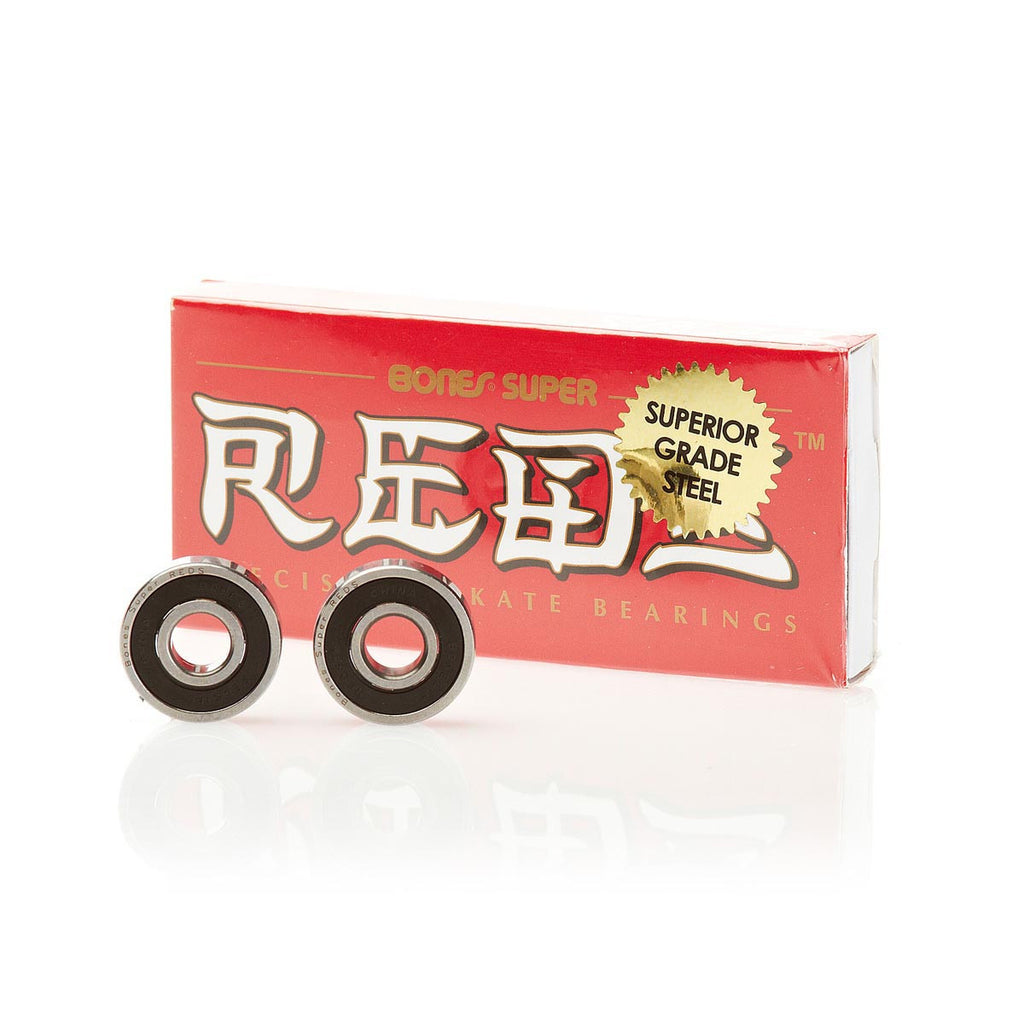 Bones Super Reds Skateboard Bearings (8 PC)