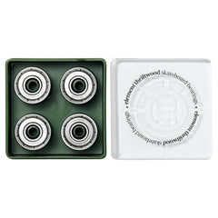 Element Thriftwood Skateboard Bearings - Silver (8 PC)