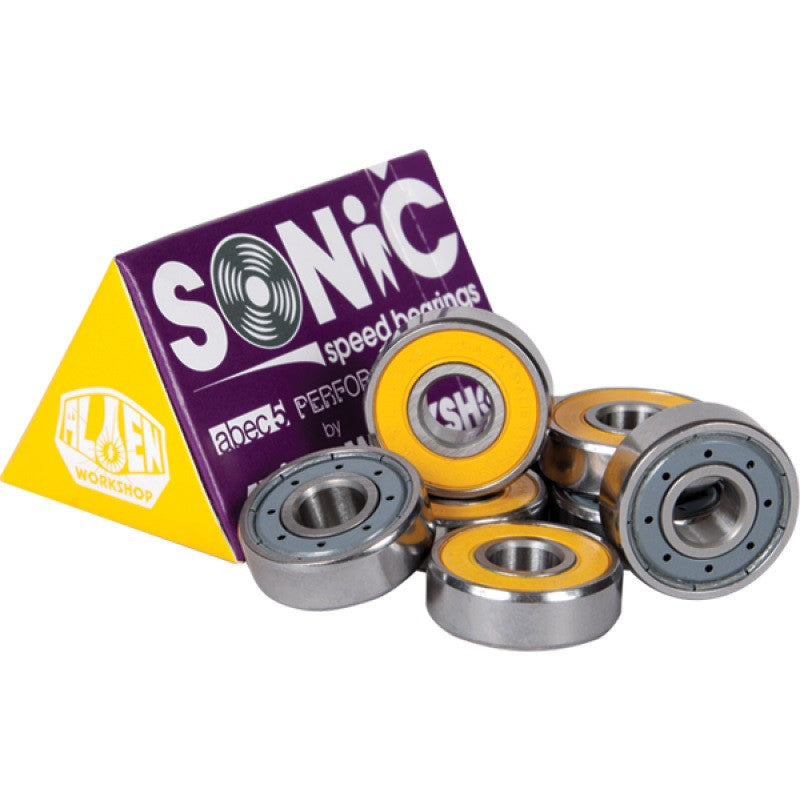 Alien Workshop Sonic Skateboard Bearings - Abec 5 (8 PC)