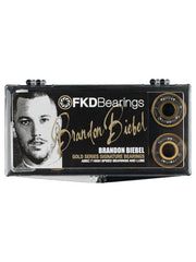 FKD Biebel Gold Series Skateboard Bearings - Abec 7 (8 PC)